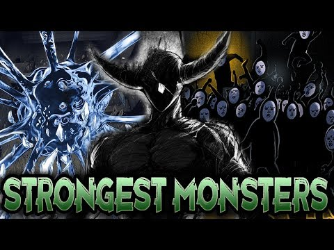 Ranking The STRONGEST MONSTERS In One Punch Man