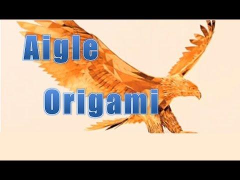 origami comment faire un aigle en papier youtube. Black Bedroom Furniture Sets. Home Design Ideas