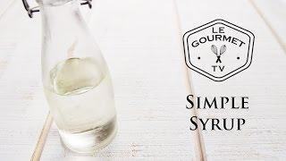 simple sugar syrup