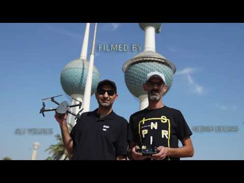DJI MAVIC PRO VIDEO TEST IN KUWAIT CITY