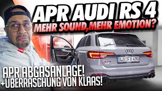 JP Performance - Mehr Sound, Mehr Emotionen? | APR Audi RS4 Abgasanlage