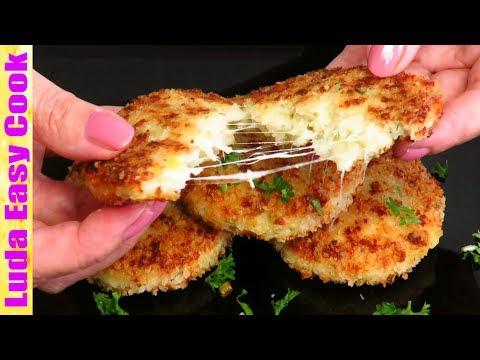 Оочень вкусные КАРТОФЕЛЬНЫЕ ОЛАДЬИ С СЫРОМ или Картофельные Котлеты | Potato Cheese Pancakes
