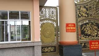 Bộ Cổng Nhôm Đúc BCH QS tỉnh Kiên Giang