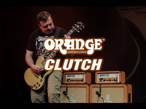 Tim Sult of Clutch and Orange Amps