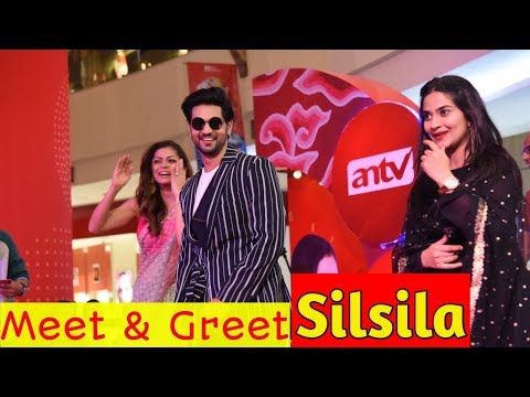 Heboh Banget! Meet & Greet Pemain Serial Silsila. Kunal, Nandini dan Mauli