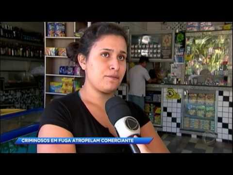 Ladrões em fuga matam comerciante atropelado em Suzano
