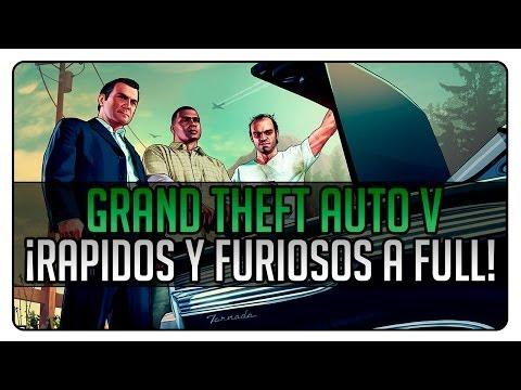 Grand Theft Auto Online: Misiones con los Paletos   Rapidos y Furiosos a FULL!