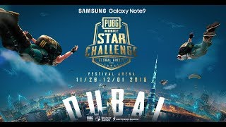 PMSC Global Finals Day 2 RUSS AN  Galaxy Note9 PUBG MOB LE STAR CHALLENGE  Global Finals
