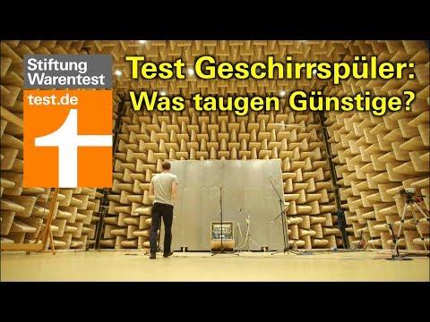 Geschirrspüler Test 2018: Was günstige Spülmaschinen taugen (Test Stiftung Warentest)