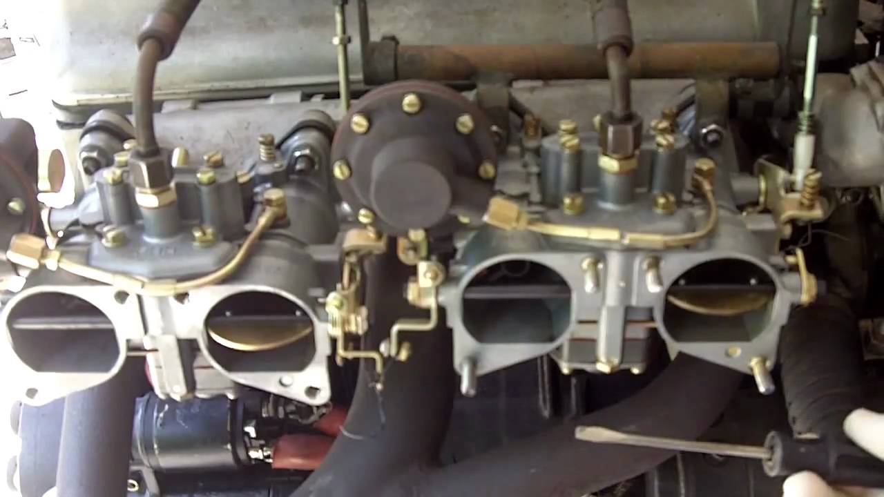 Jeff 39 s 190sl solex carbs youtube for Mercedes benz parts distribution center carol stream il