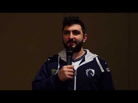 Gh from Team Liquid at The International 7 Press Day