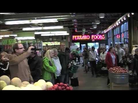 Rossland Glee Club Flash Mobs Ferraro Foods