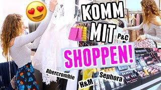 KOMM MIT MIR ZUM SHOPPEN! H&M, Abercrombie, Sephora ♡ BarbaraSofie
