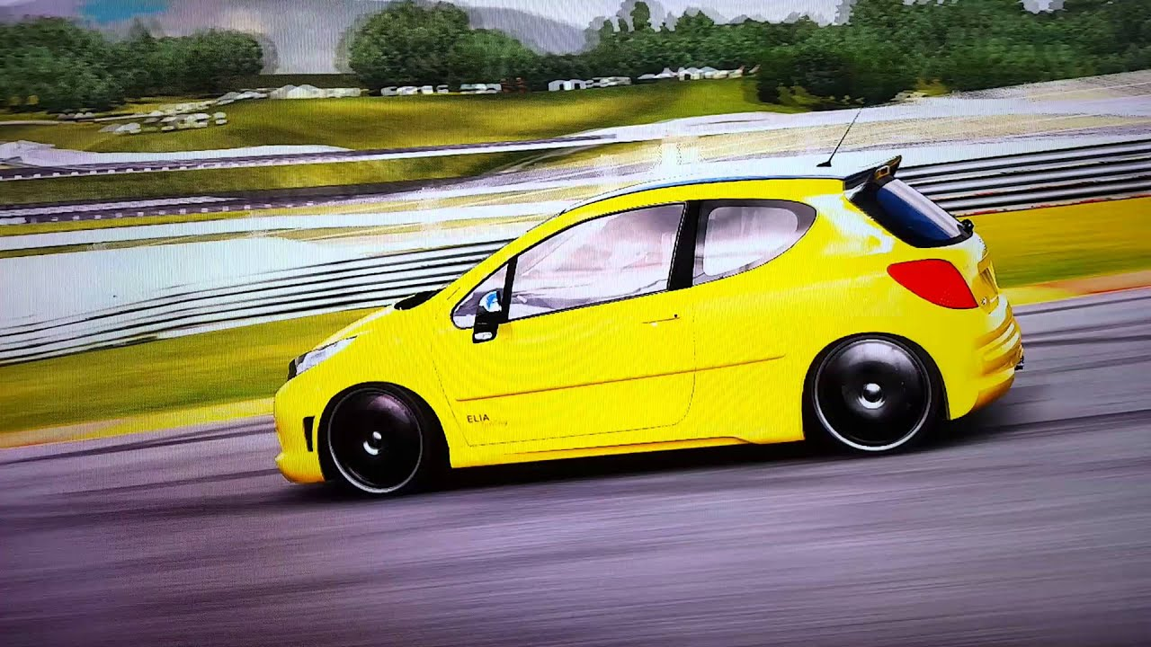 Forza 4 Peugeot 207 Rc 2007 633 Ps Youtube