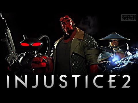 Thumbnail: Injustice 2: DLC Fighter Pack 2 Reveal Trailer!!