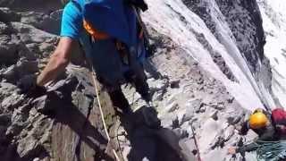 Couloir du Goûter - Mont Blanc juillet 2015