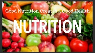 Why is NUTRITION so Important for health- In Hindi