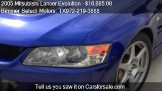 2005 Mitsubishi Lancer Evolution Evolution VIII - for sale i