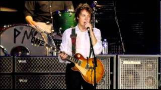 "Paul McCartney ""Get Back/Sgt.Pepper(Reprise)/The End"" Live"