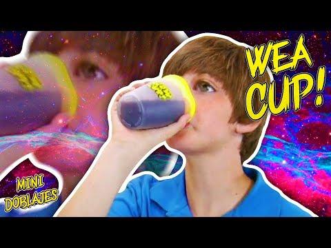 🍺 ¡LA WEA CUP! 🥛 - Mini Doblaje
