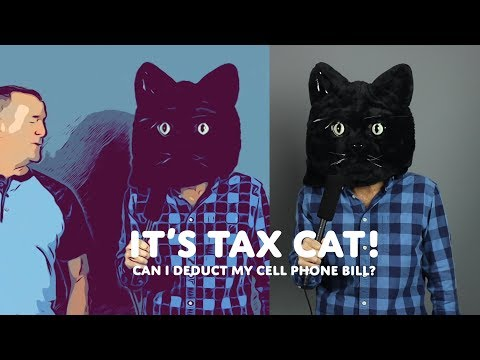 Can You Deduct Cell Phone Costs? - Tax Cat Ep04