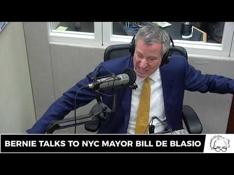 Bernie Sanders & NYC Mayor Bill de Blasio Discuss Progressive Government