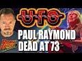 Capture de la vidéo Ufo Guitarist & Keyboardist Paul Raymond Dead At 73 - Our Tribute