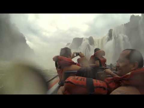 Iguazu Falls, Argentina-boat ride under the falls