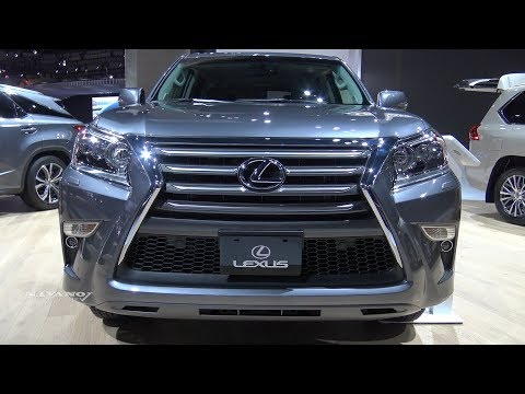 2018 Lexus GX 460 - Exterior And Interior Walkaround - LA Auto Show 2017