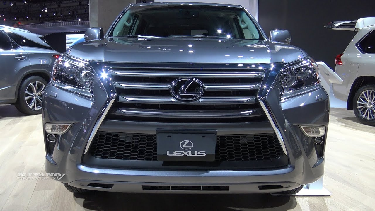 2018 Lexus Gx 460 Exterior And Interior Walkaround La
