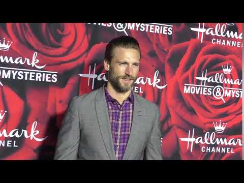 Andrew Walker at the Hallmark Channel And Hallmark Movies And Mysteries Winter 2017 TCA Press Tour a
