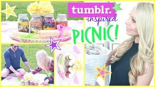 Diy Summer Picnic ☀ Healthy Food, Tumblr Decor + Fun!