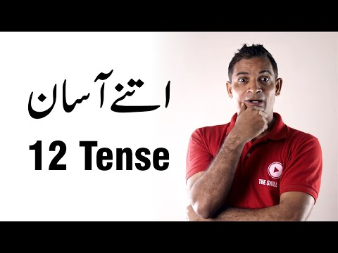 How to learn tenses in english grammar with examples in urdu how to remember tenses names in English
