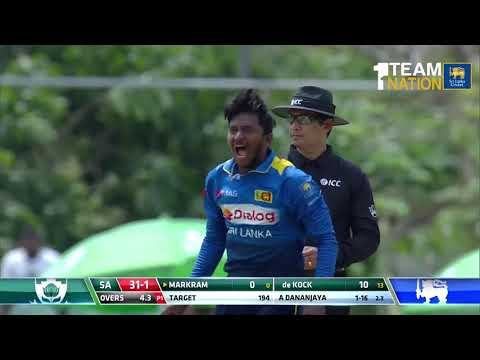 1st ODI, Highlights - Sri Lanka Vs South Africa At Dambulla