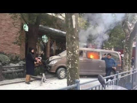 Possible Van Attack in Shanghai, China - LIVE BREAKING NEWS COVERAGE