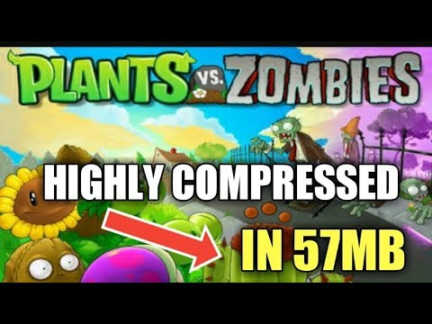 HOW TO DOWNLOAD PLANTS VS ZOMBIES (HIGHLY COMPRESSED ...