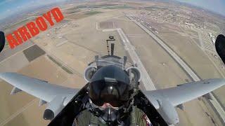 A-10 Thunderbolt II Demonstration Team Cockpit Footage