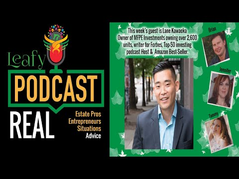 Leafy Episode 26: Simple Passive Real Estate Investing with Lane Kawaoka