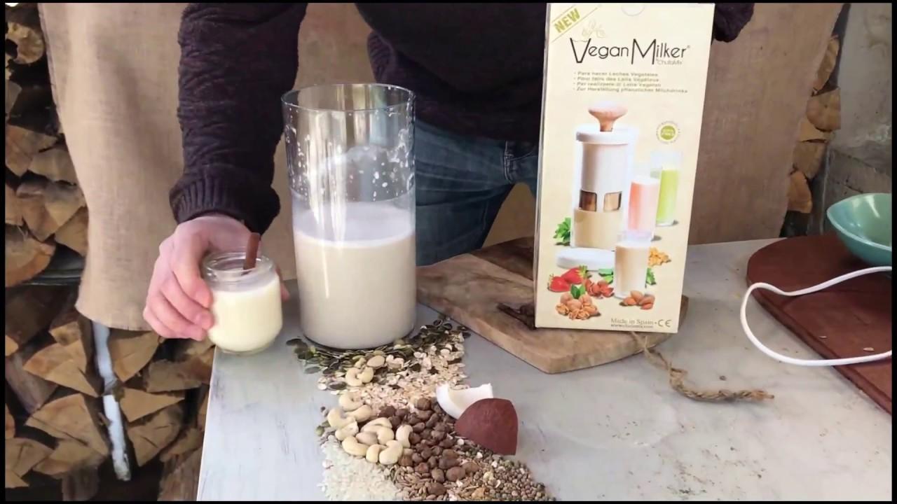 Kokosmilch Hafer Und Kakao Mit Datteln Youtube
