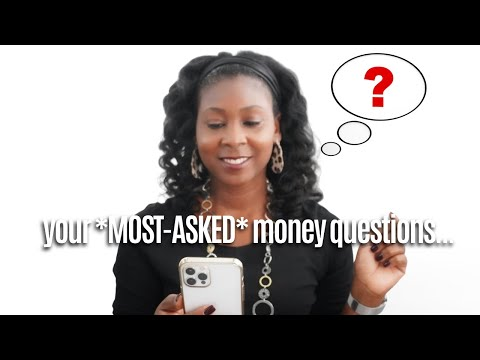 7 frequently asked *IMPORTANT* money questions (answered) | FRUGAL LIVING