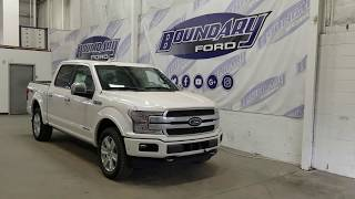 2018 Ford F-150 SuperCrew Platinum 700A W/ 3.0L Power Stroke, Leather Overview | Boundary Ford