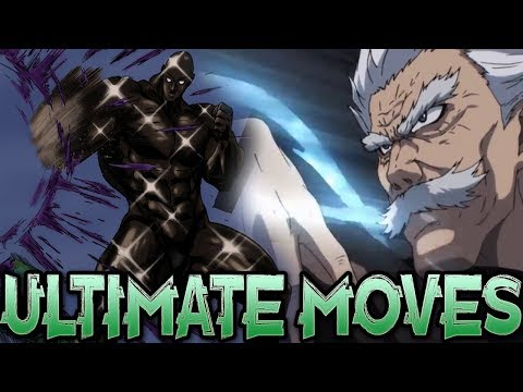The Future Ultimate Moves Of One Punch Man
