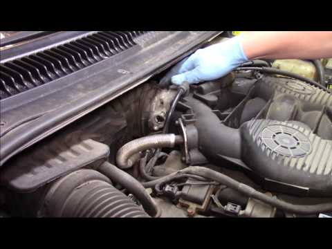 Throttle Position Sensor (TPS) Installation - Dodge, Chrysler, Plymouth 2.7L