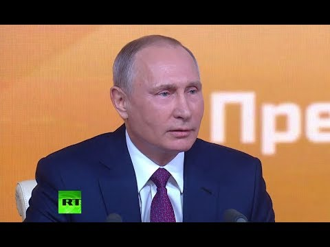 Putin Presser 2017 (STREAMED LIVE)