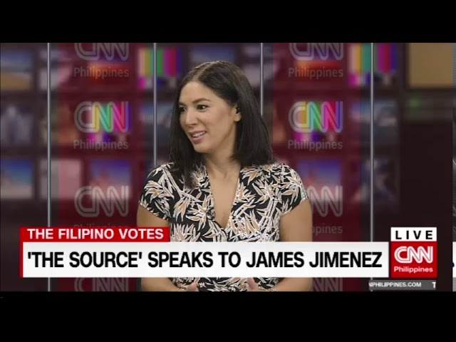 'The Source' speaks to Comelec Spokesman James Jimenez