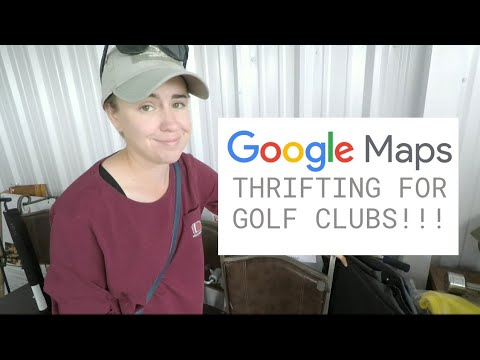 GOOGLE MAPS THRIFTING FOR GOLF CLUBS CHALLENGE!! (Has Our Luck Finally Run Out!?!)
