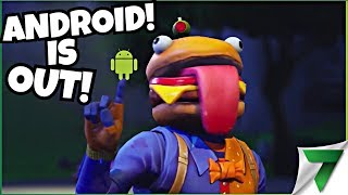 ANDROID BETA IS OUT! N00BING TIME!! | Fortnite Mobile !omlet