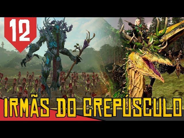 Corpo a Corpo vs DINOSSAUROS - Total War Warhammer 2 Irmãs do Crepúsculo #12 [Gameplay PT-BR]