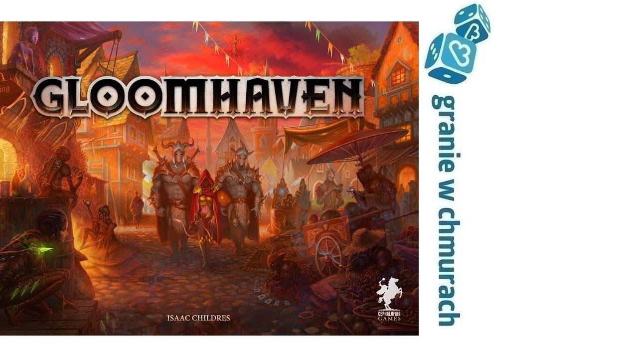 Gloomhaven – Otwieram pudełko (unboxing)