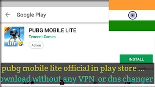 Download pubg mobile lite  from playstore without  any vpn or other §ites||by gamer bhai
